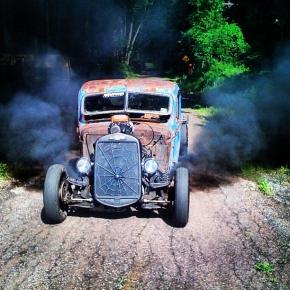 Diesel Rat Rod Smokeshow