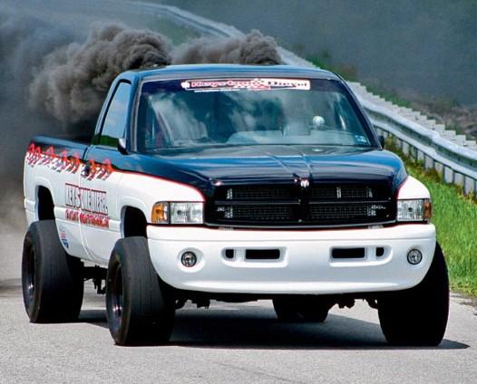 Dodge Ram Cummins Drag Truck - Diesel Truck Gallery